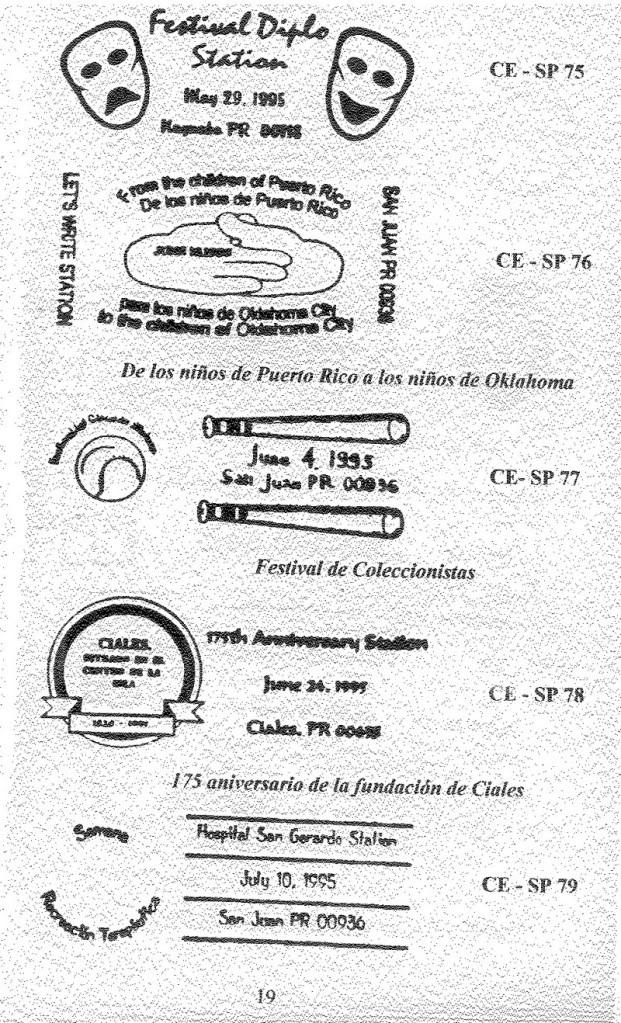 Cancelaciones Especiales de Puerto Rico 1927-2001 020-1