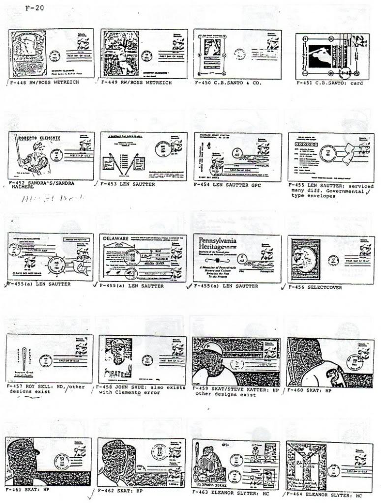 Catalogo FDC de Clemente 2097 020-2