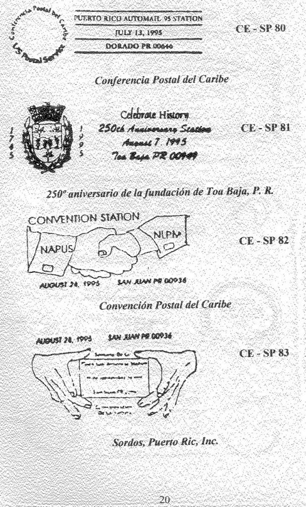 Cancelaciones Especiales de Puerto Rico 1927-2001 021-1