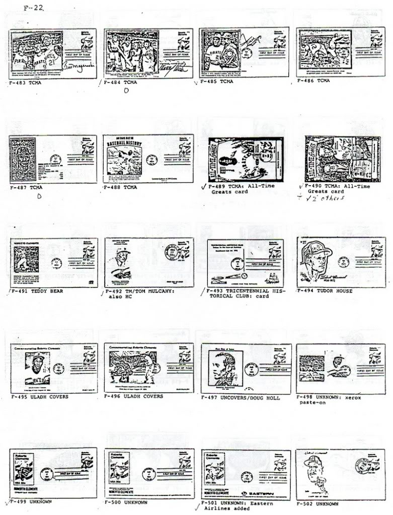 Catalogo FDC de Clemente 2097 022-2