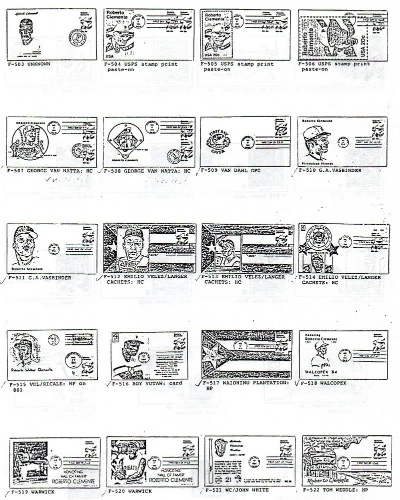 Catalogo FDC de Clemente 2097 023-2