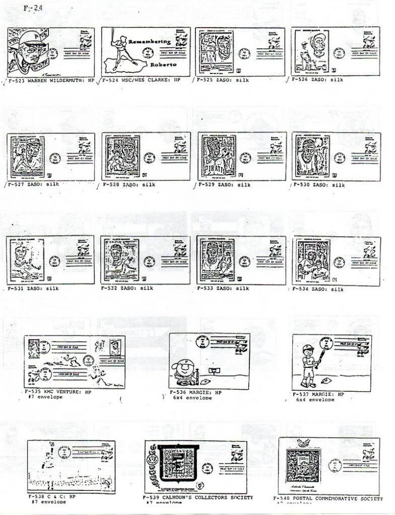Catalogo FDC de Clemente 2097 024-2
