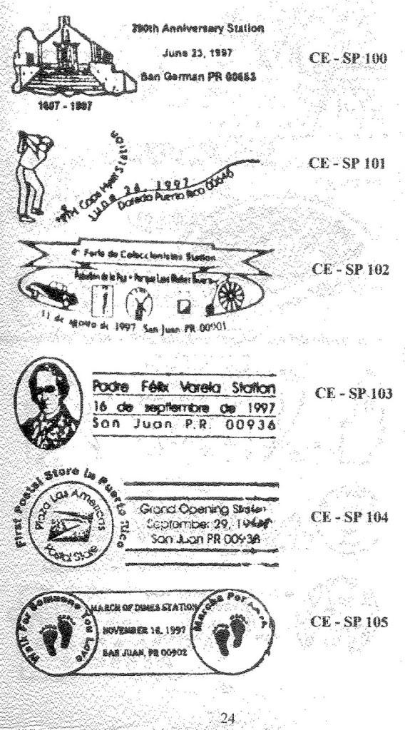 Cancelaciones Especiales de Puerto Rico 1927-2001 025-1