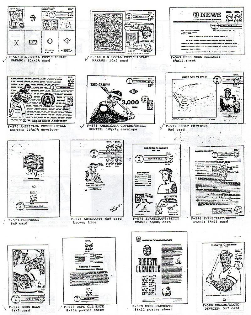 Catalogo FDC de Clemente 2097 027-2