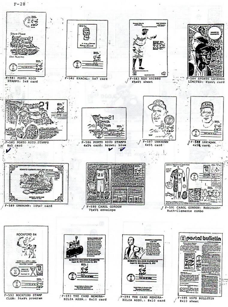 Catalogo FDC de Clemente 2097 028-2