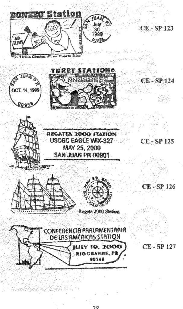 Cancelaciones Especiales de Puerto Rico 1927-2001 029-1