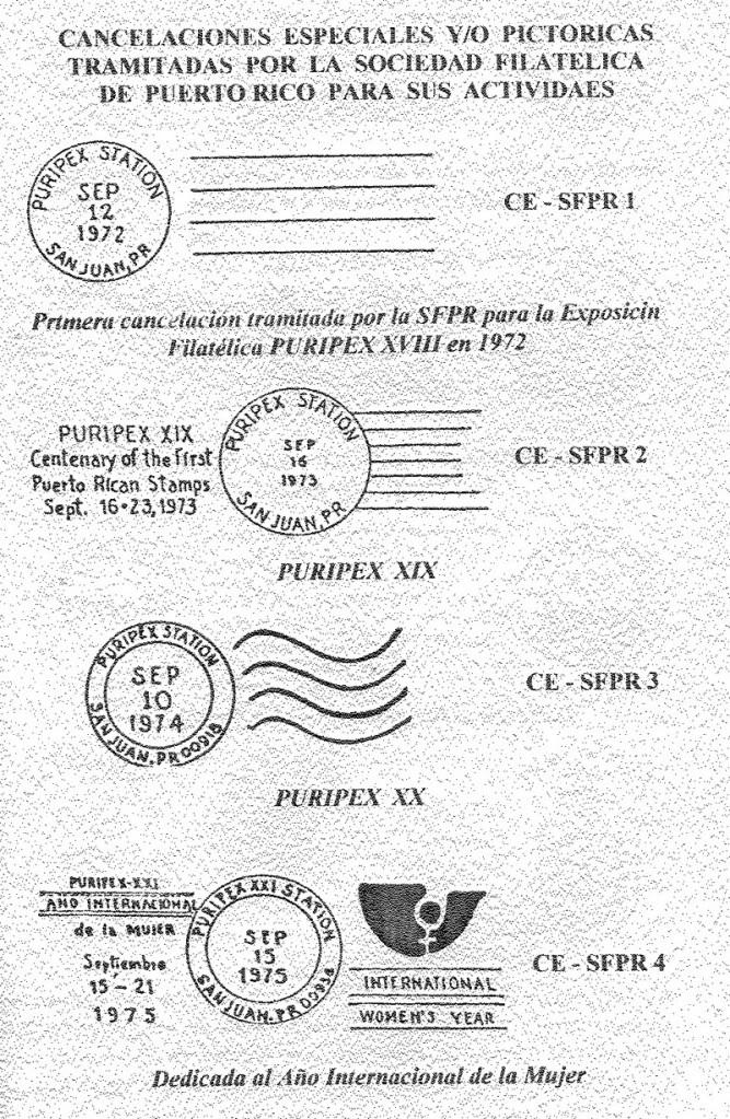 Cancelaciones Especiales de Puerto Rico 1927-2001 034-1
