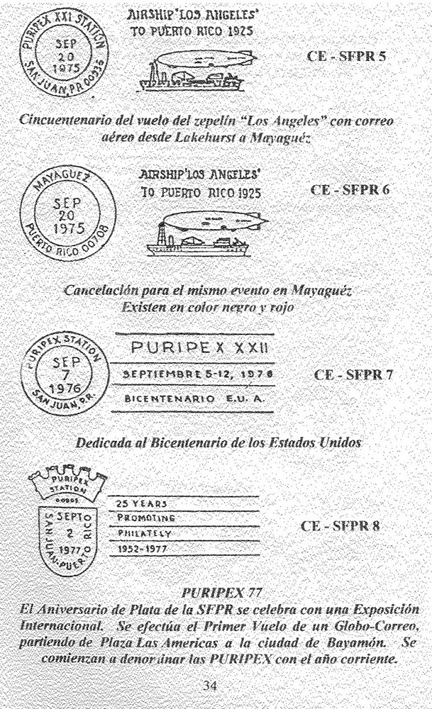 Cancelaciones Especiales de Puerto Rico 1927-2001 035-1