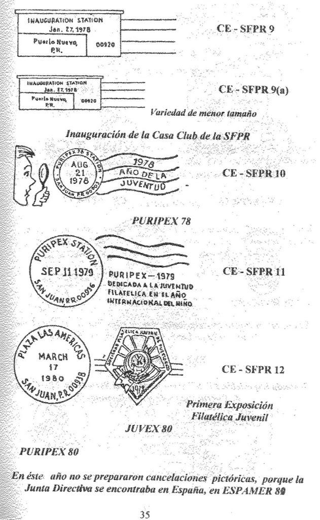 Cancelaciones Especiales de Puerto Rico 1927-2001 036-1