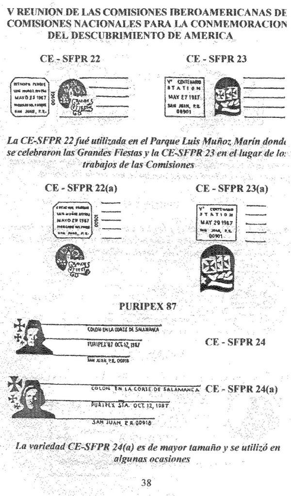 Cancelaciones Especiales de Puerto Rico 1927-2001 039-1