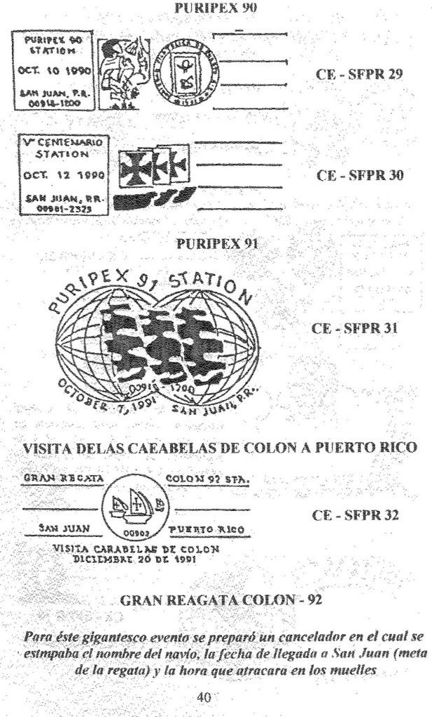 Cancelaciones Especiales de Puerto Rico 1927-2001 041-1
