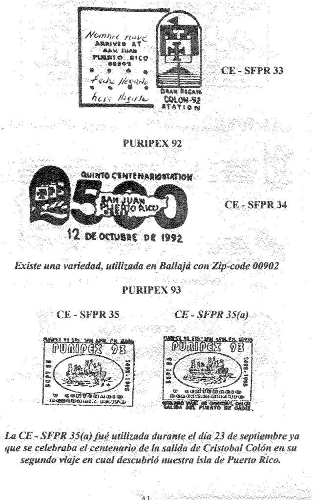 Cancelaciones Especiales de Puerto Rico 1927-2001 042-1