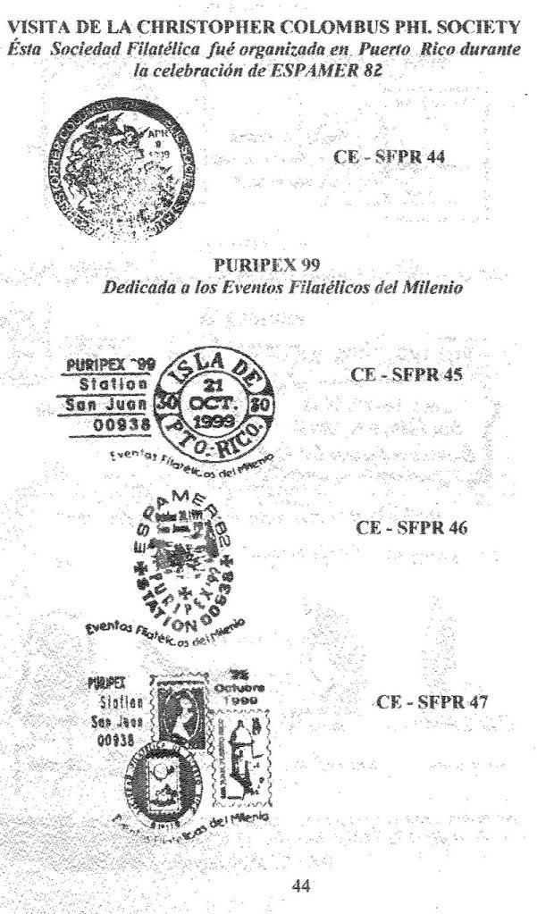 Cancelaciones Especiales de Puerto Rico 1927-2001 045-1