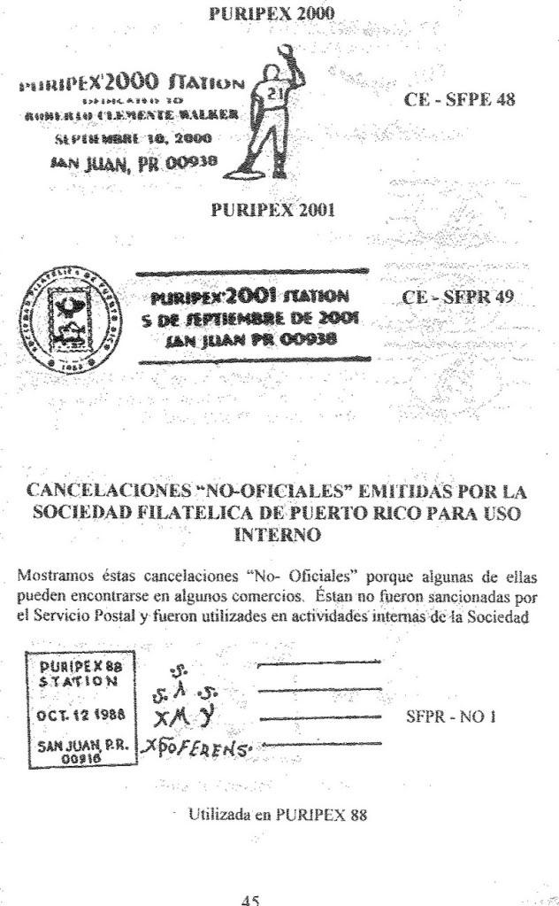Cancelaciones Especiales de Puerto Rico 1927-2001 046-1