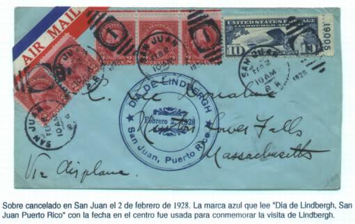 INICIOS DEL CORREO AEREO EN EL CARIBE Y PUERTO RICO 08