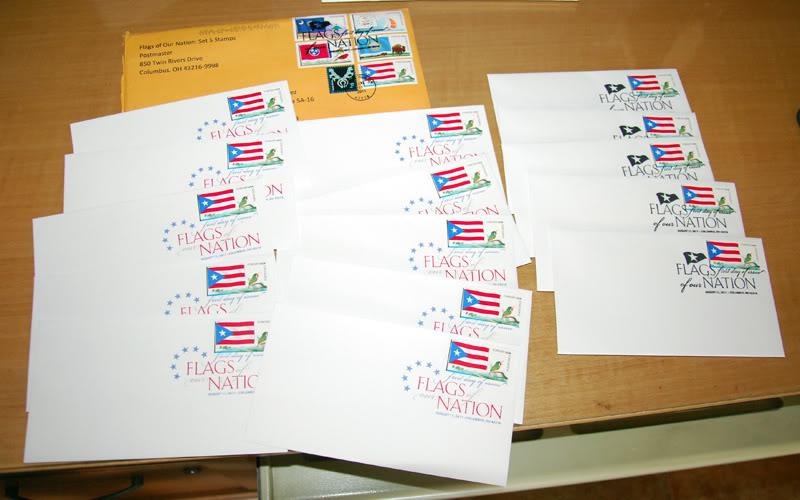 Sello de la bandera de Puerto Rico 20111015-07614s