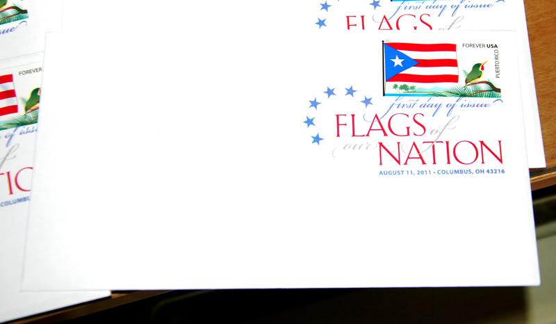Sello de la bandera de Puerto Rico 20111015-07616s