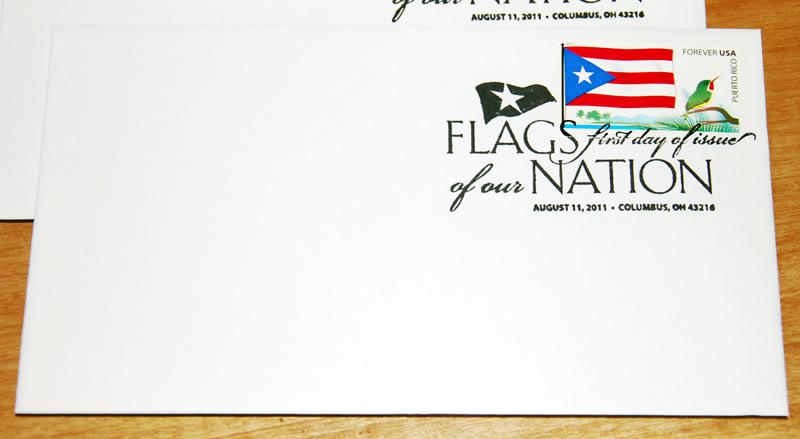 Sello de la bandera de Puerto Rico 20111015-07617s