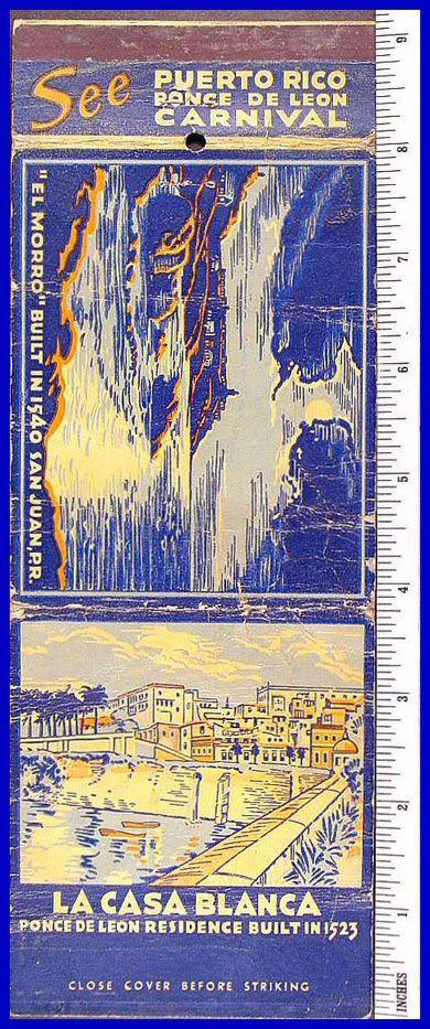 El Carnaval Ponce de Leon 1937 Fosforo1