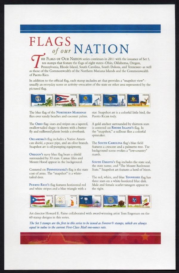 Ceremonia de primer dia de venta Sello de la bandera de Puerto Rico ProgramaBanderaPR002600