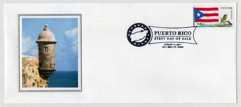 Ceremonia de primer dia de venta Sello de la bandera de Puerto Rico ProgramaBanderaPR004s