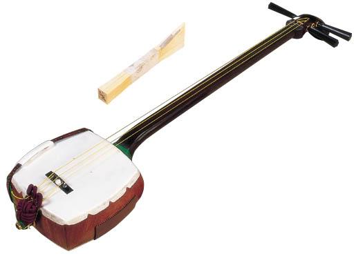 Nét đặc trưng trong nhạc cụ truyền thống Nhật Bản Shamisen