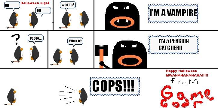 Rate my comic! HappyHalloweencomic
