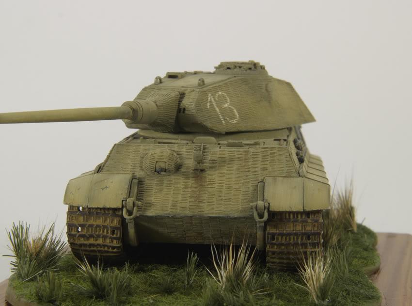 King Tiger 1/72 scale PB-Tiger5