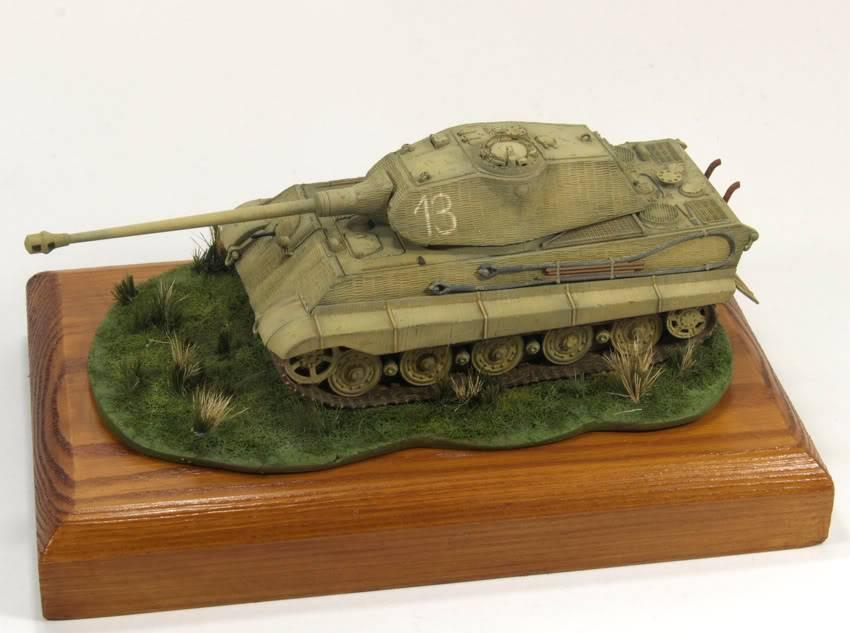 King Tiger 1/72 scale PB-Tiger6