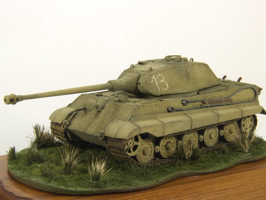 King Tiger 1/72 scale PB-Tiger7