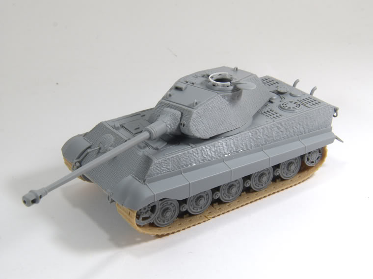 King Tiger 1/72 scale PB-k10
