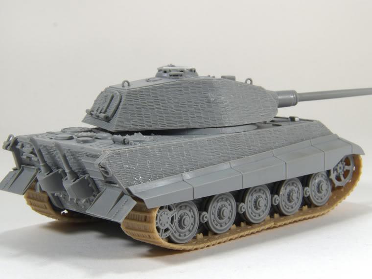 King Tiger 1/72 scale PB-k12