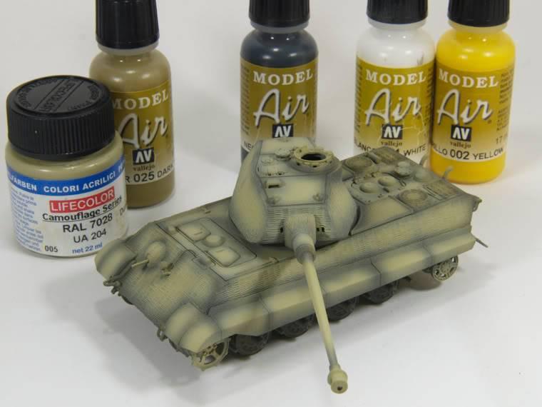 King Tiger 1/72 scale PB-k20