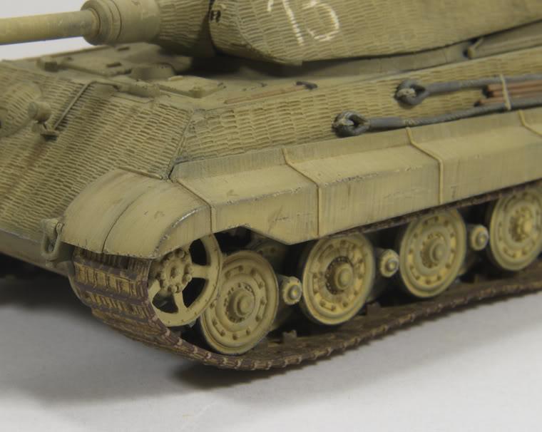 King Tiger 1/72 scale PB-k31-1