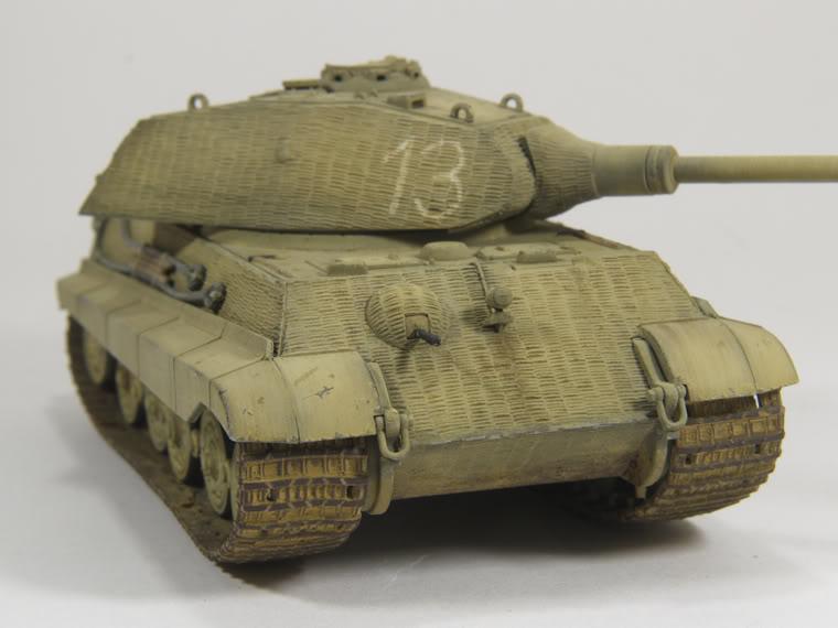 King Tiger 1/72 scale PB-k32