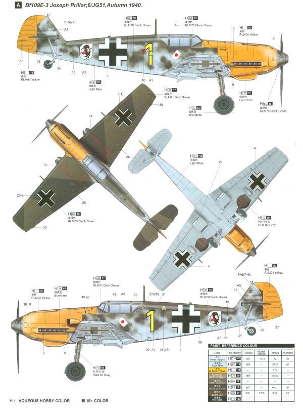 Albatross 1/72 Declared Complete!  Bf109e_profile01_zps90253d5e