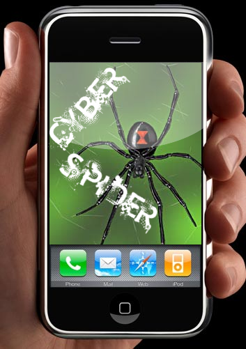 Ace's Miscellaneous Graphics (Made with GIMP) Cyber_spider