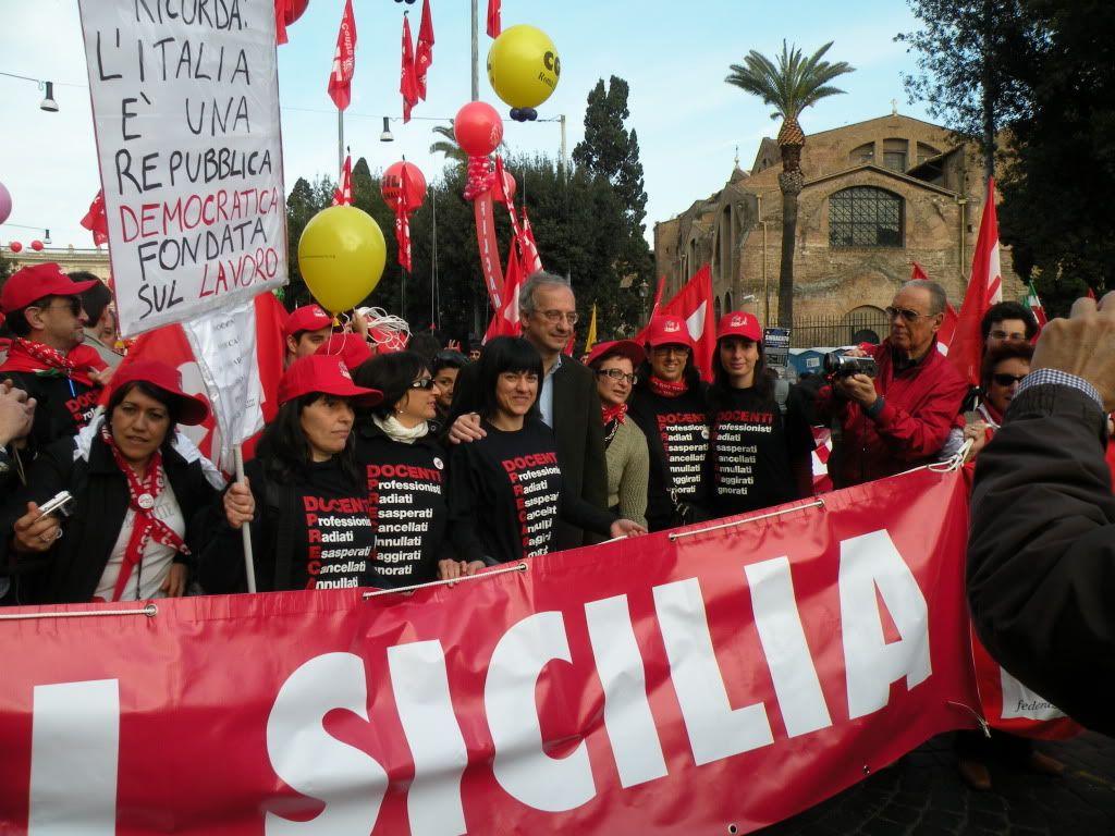 Foto manifestazione 4 Aprile 2009 (con Veltroni) DSCN2353