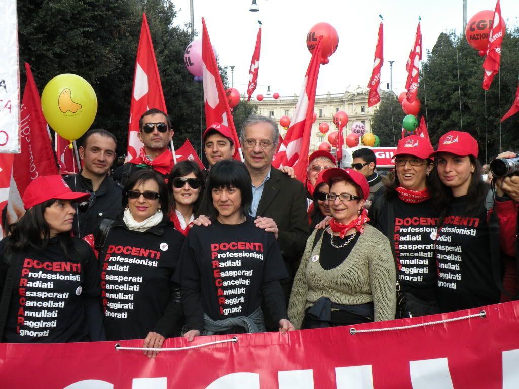Foto manifestazione 4 Aprile 2009 (con Veltroni) DSCN2357