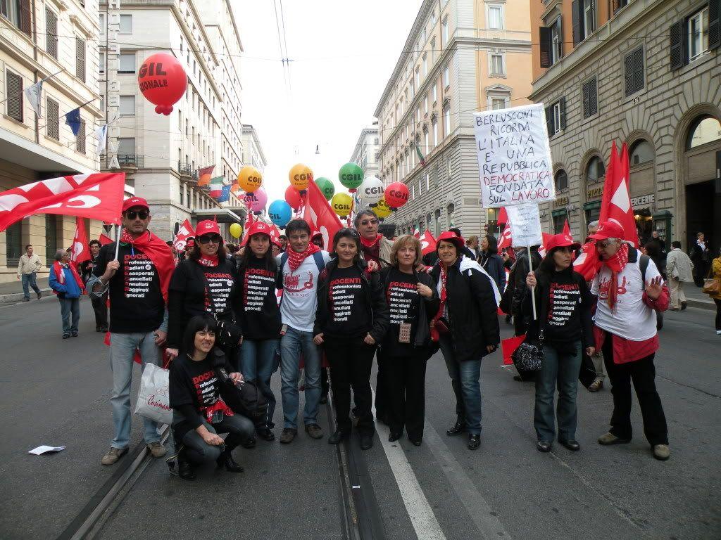 Foto manifestazione 4 Aprile 2009 (con Veltroni) DSCN2397