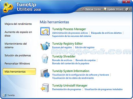 TuneUp Utilities 2008 con Keygen TuneUp-Utilities-2008-herramientas