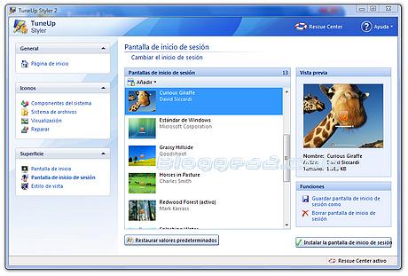TuneUp Utilities 2008 con Keygen TuneUp-Utilities-2008-pantalla