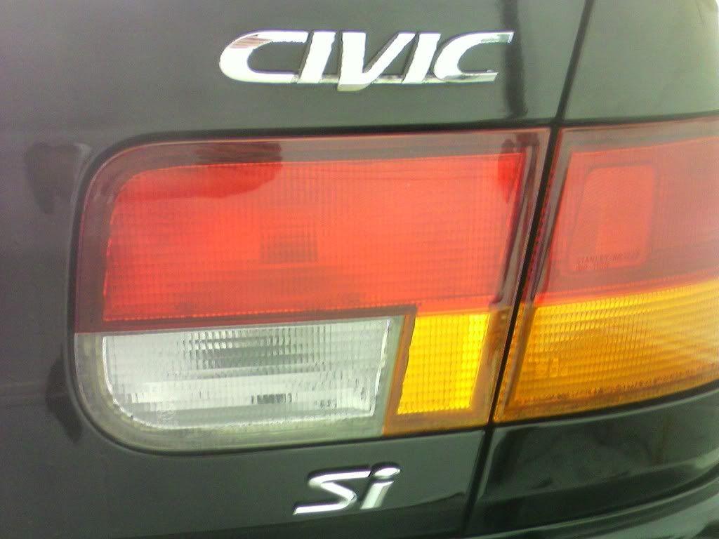 Waxed The Civic. 1