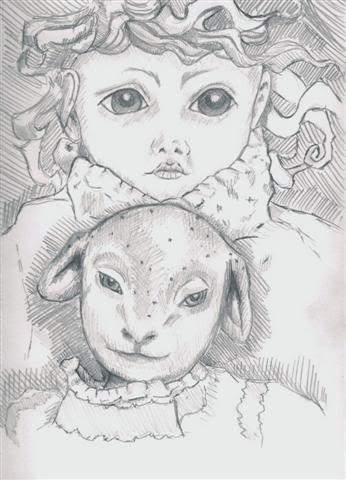 Tegninger af dukker YogASmall
