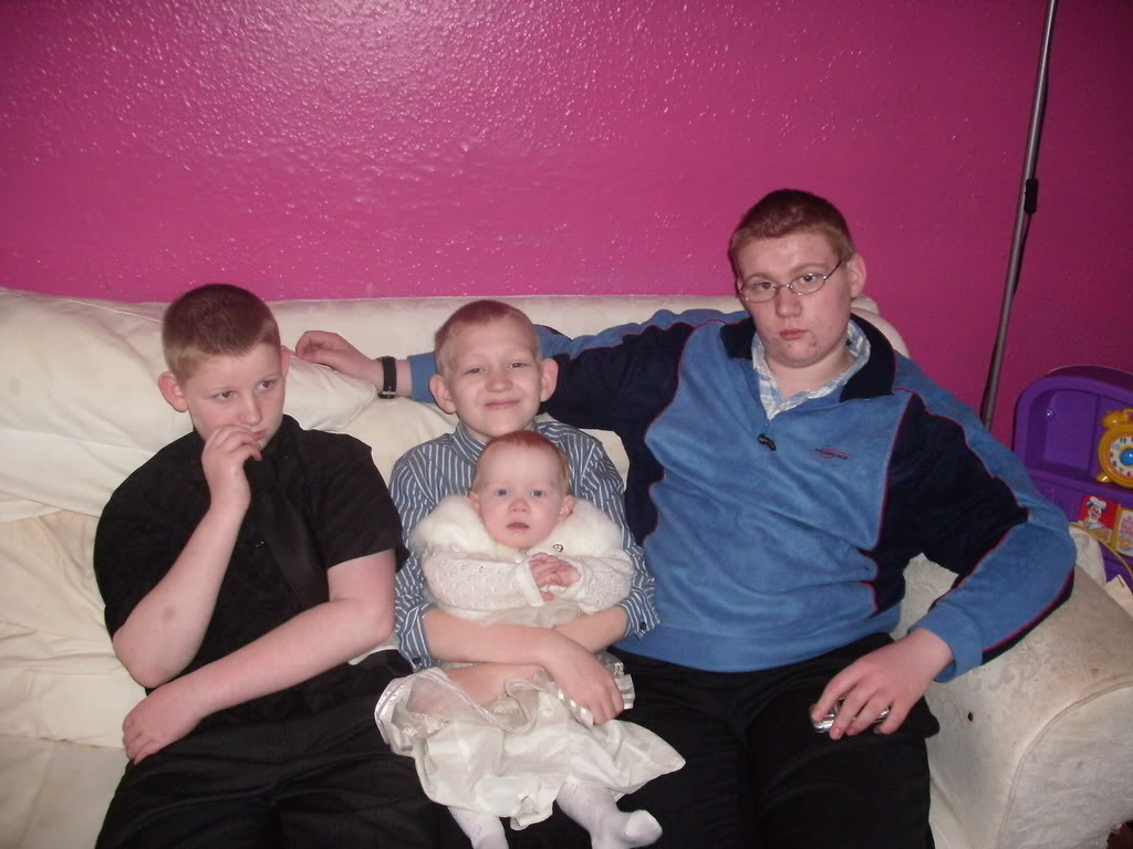 My 4 together Lilly-MaisChristening023