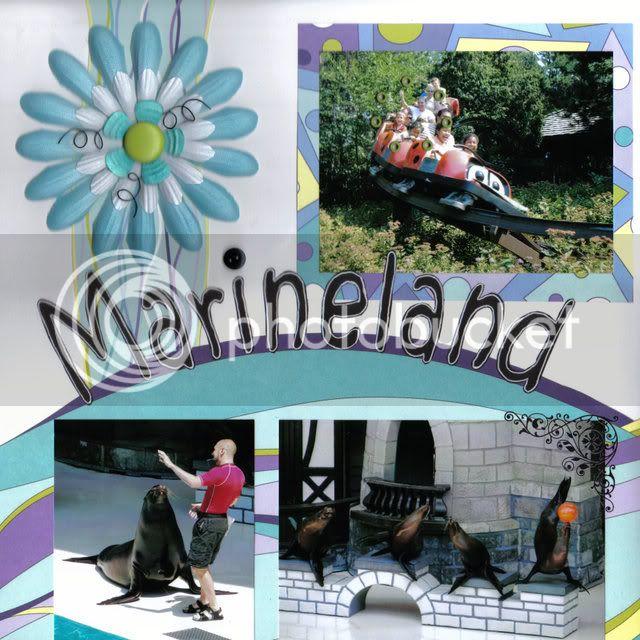 Défi de janvier de Quiero - fil de fer Marineland-2