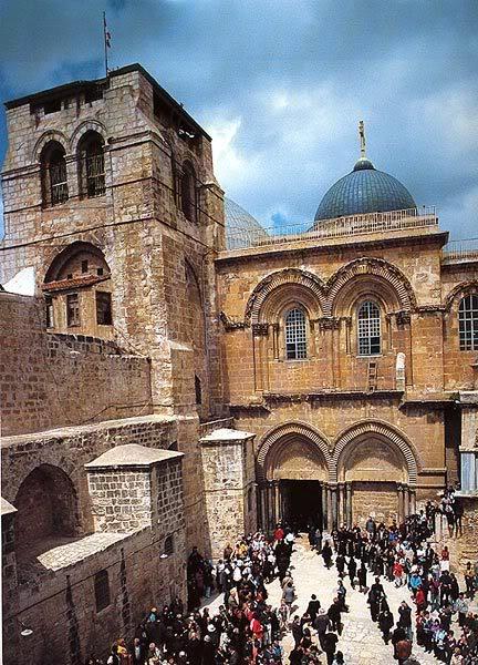 صور لاماكن حقيقيه تواجد فيها يسوع المسيح Sa7at_kanesat_alkeama