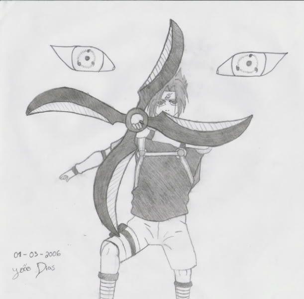 Desenhos a Carvão - Página 10 Sasukebyme