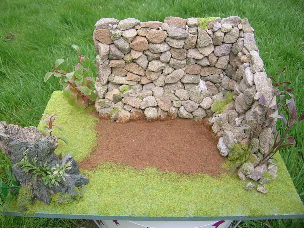 Stone Wall Diorama Diorama001