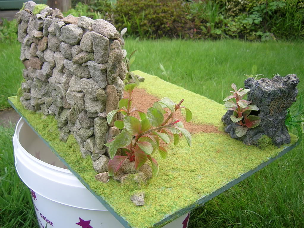 Stone Wall Diorama Diorama004